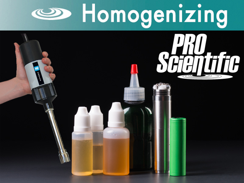 Homogenize Vegetable Glycerin for E-Juice
