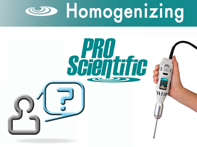 Choosing a homogenizer
