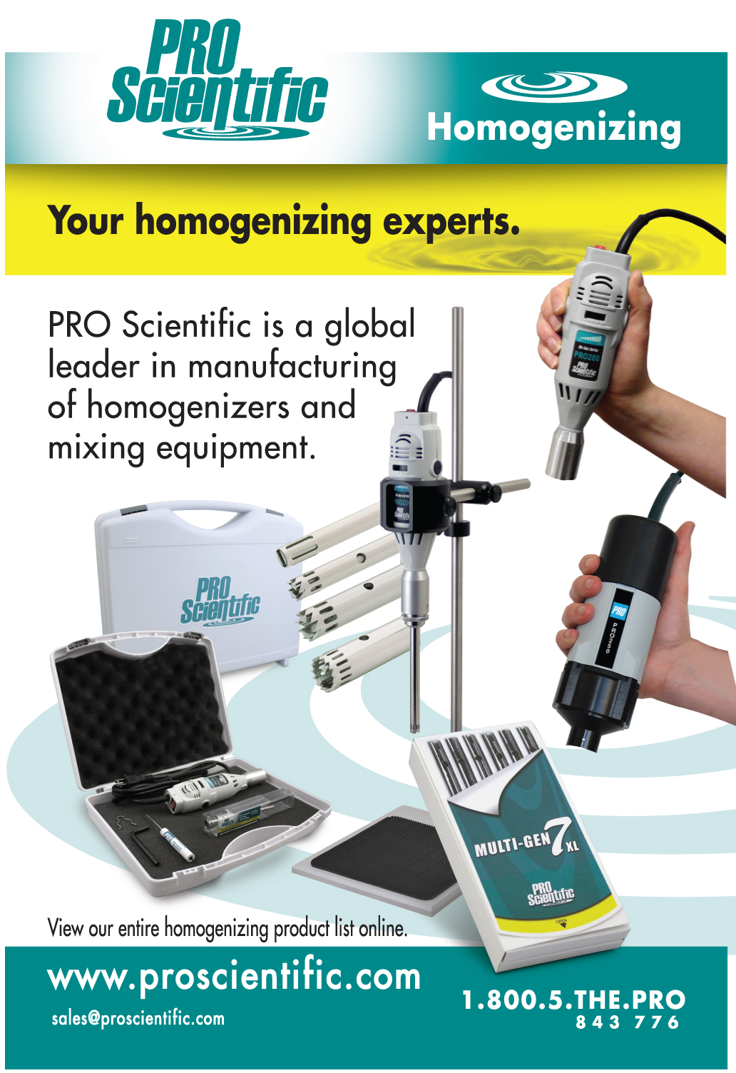 Homogenizer Package