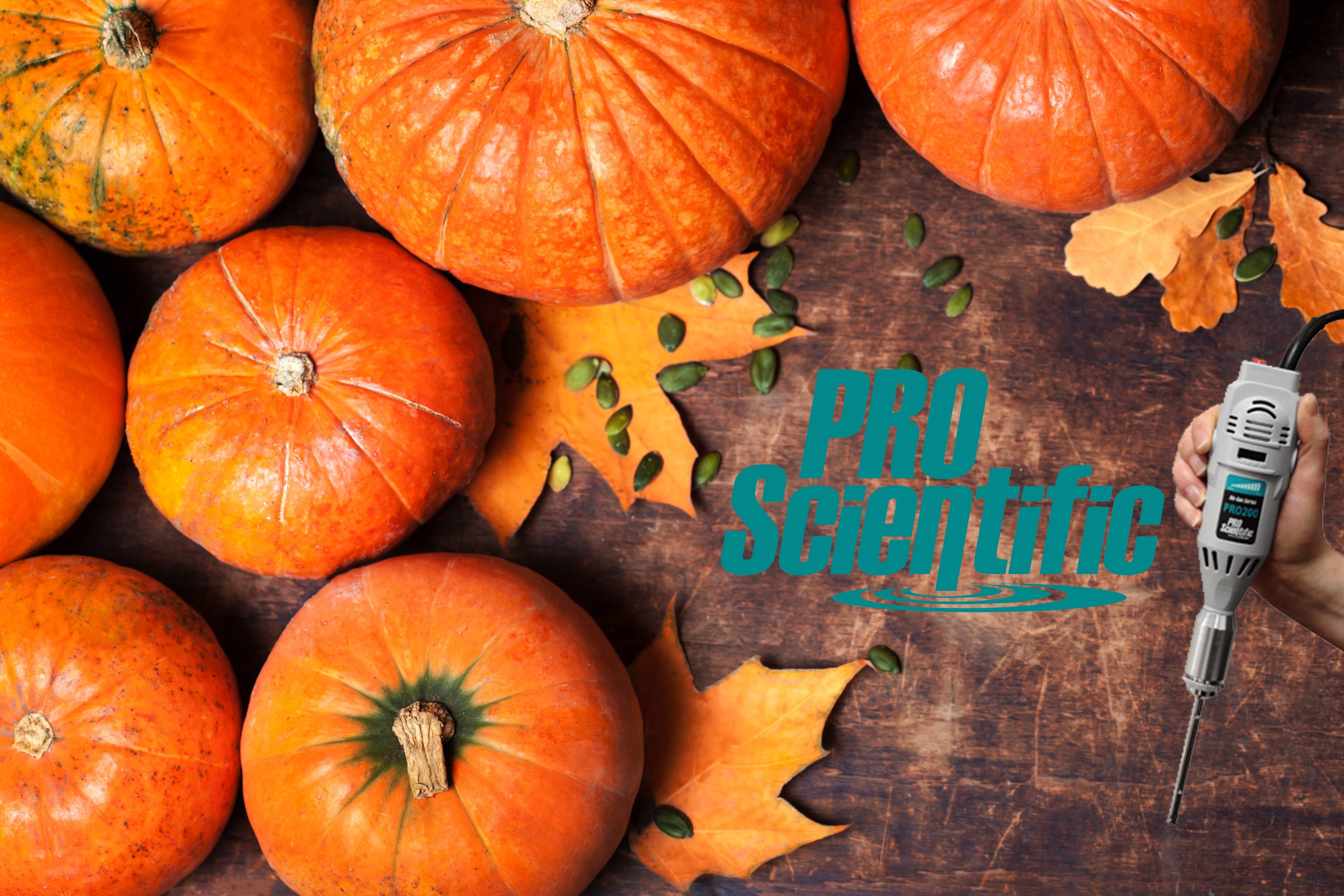 PRO Scientific Pumpkin Homogenization
